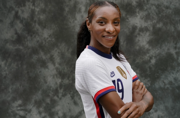 10 to Watch: USWNT's Crystal Dunn steps into the spotlight, on and off the field