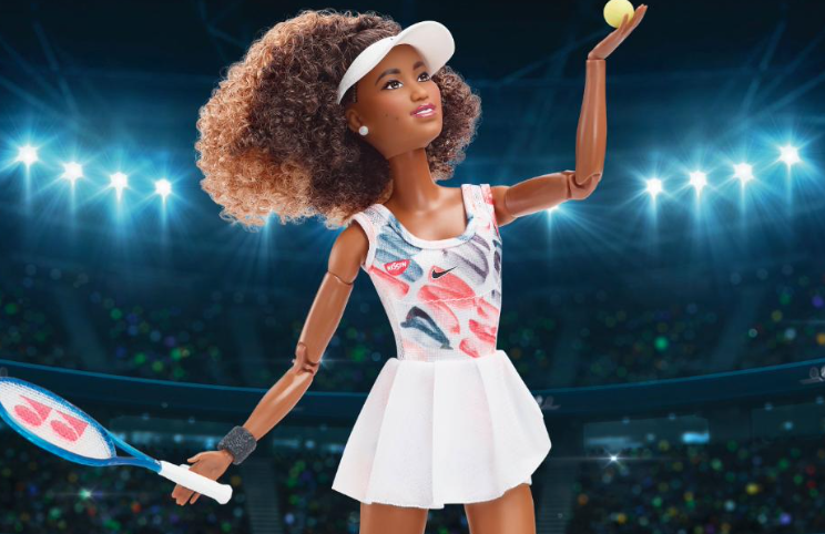 Naomi Osaka Barbie doll sells out shortly after launch