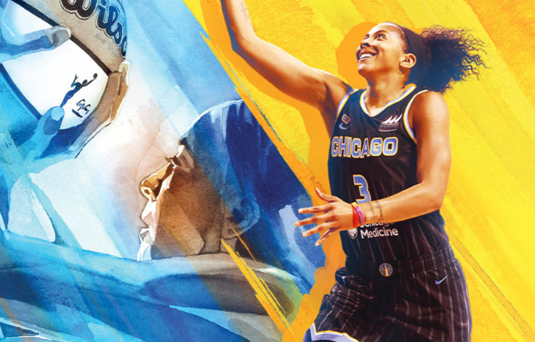 WNBA's Candace Parker of Chicago Sky to be first female basketball player on cover of NBA 2K