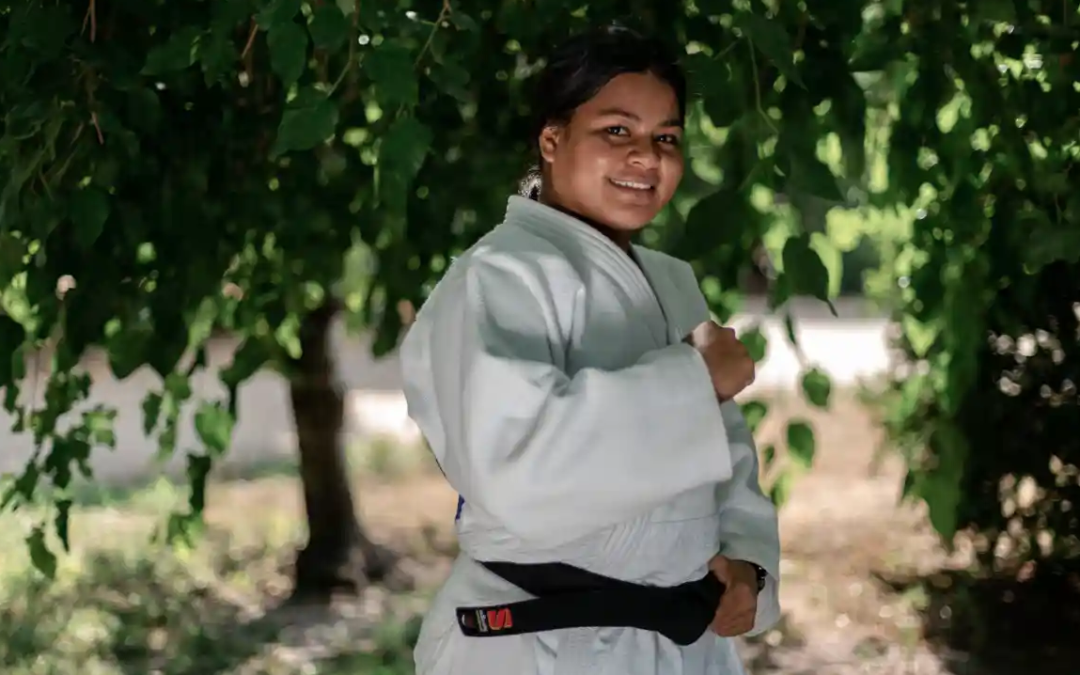 'She can do it': Kiribati Olympic judo hopeful wants to combat domestic violence