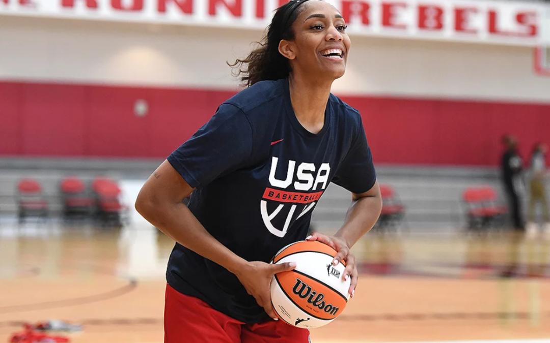Olympic Basketball Star A'ja Wilson on Sports' Gender Disparity: 'It Hurts My Soul for Young Girls'