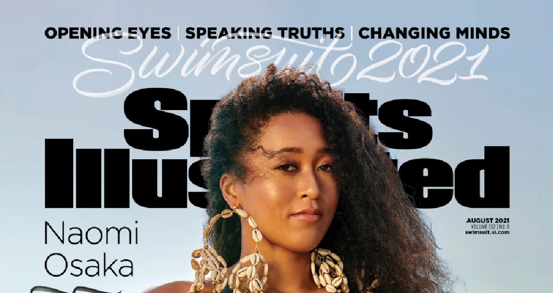 Naomi Osaka becomes first female Black athlete on a Sports Illustrated Swimsuit cover