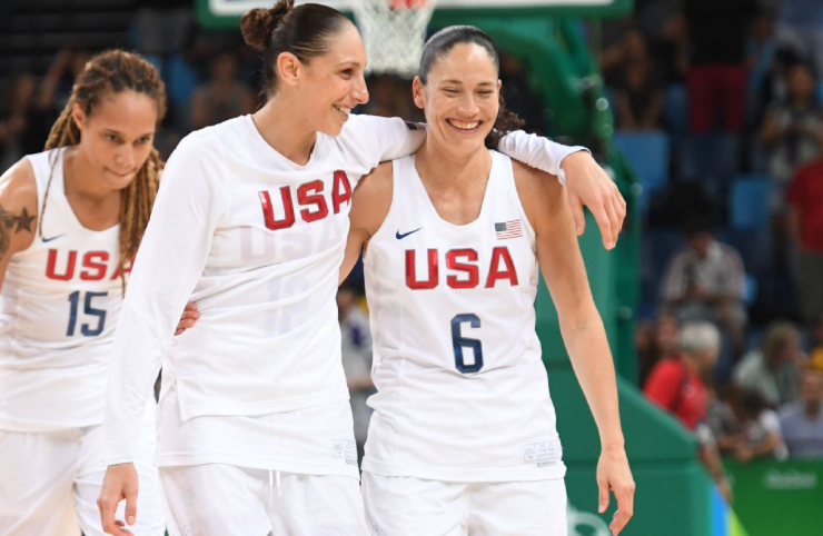 Diana Taurasi practicing with Team USA, hopeful for women's basketball Olympic opener
