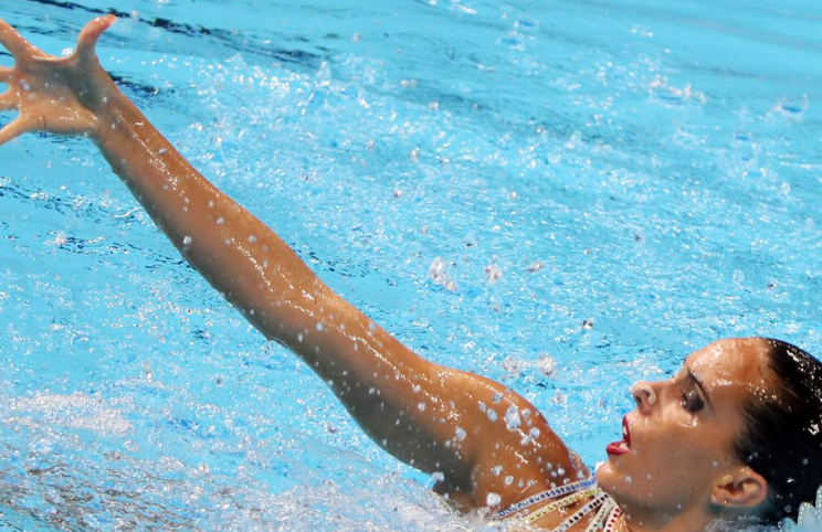 Olympics Spanish swimmer had to leave breastfeeding son at home