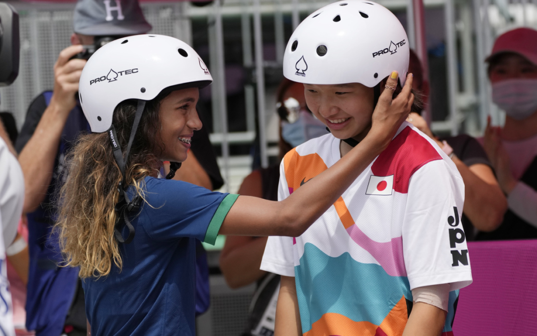 They're Olympic gold and silver medalists. And they're 13 years old.