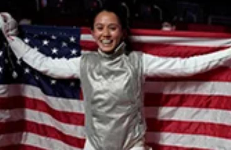 U.S. fencer Lee Kiefer wins women's foil final, making history