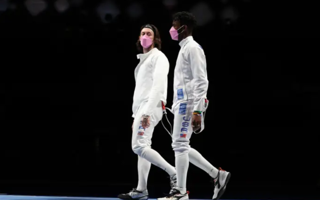 US Olympic Fencers Wore Pink Masks To Protest Against Their Teammate Accused Of Sexual Assault