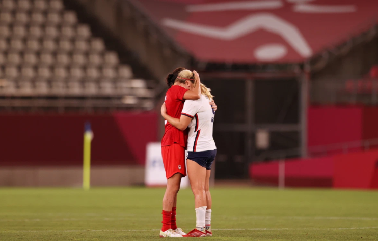 USWNT stunned by Canada in Olympic semifinal match