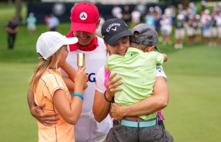 Annika Sorenstam is a USGA champion again after learning to mix golf and family