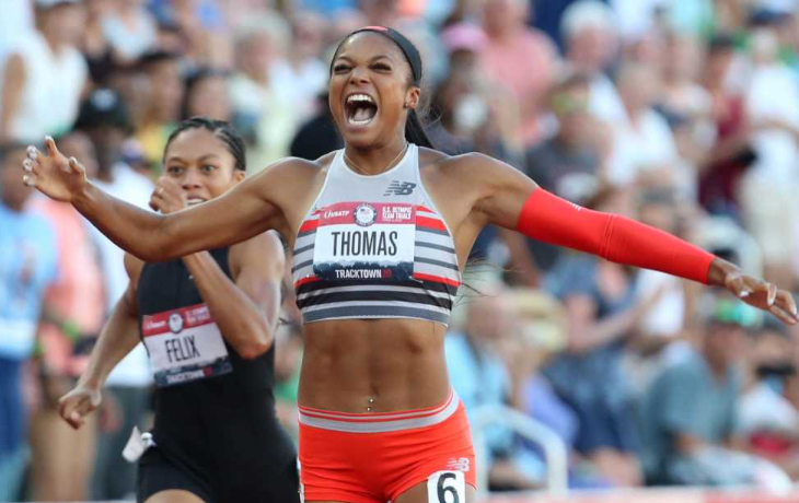 Gabby Thomas Sets a New Standard for Sprinters, On and Off the Track