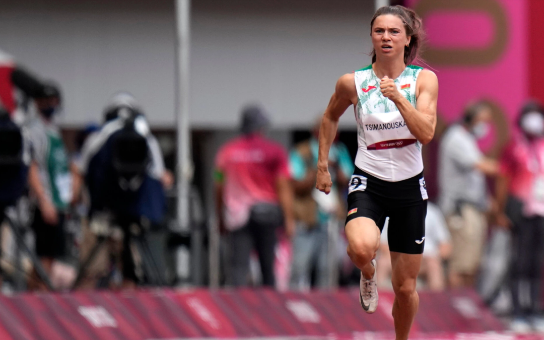 Belarus Sprinter Becomes an Unlikely Dissident