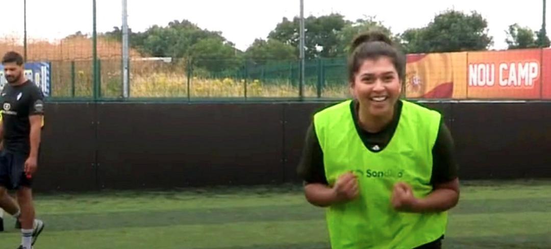 British Asian women take on football 'taboo'