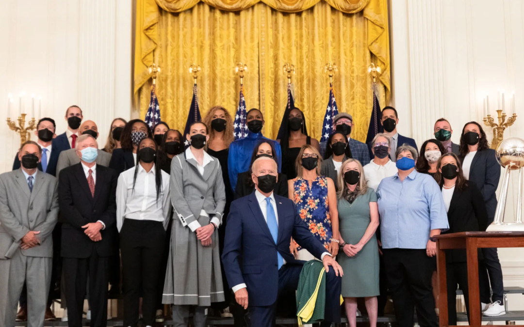 The Seattle Storm Just Graced the White House With Black and Queer Excellence