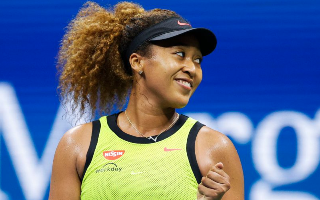 Naomi Osaka Gives Olympic Pin To Young Black Girl After U.S. Open Victory