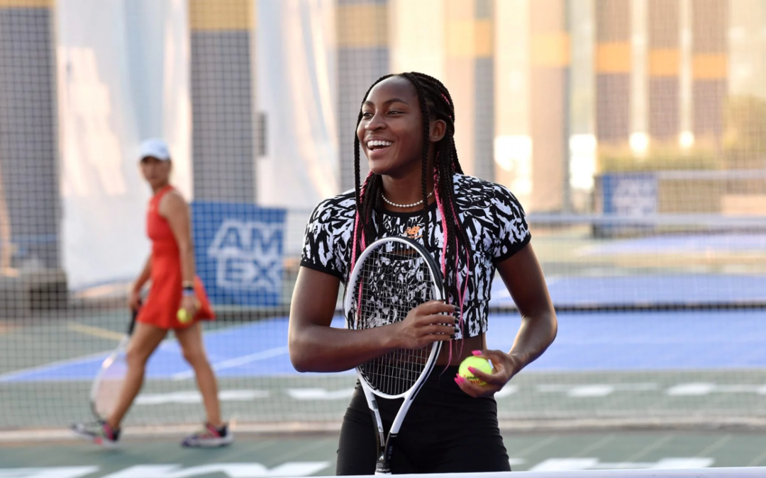 Coco Gauff Talks Pushing Past Disappointment of Being Unable to Compete in Olympics, Focusing on Future