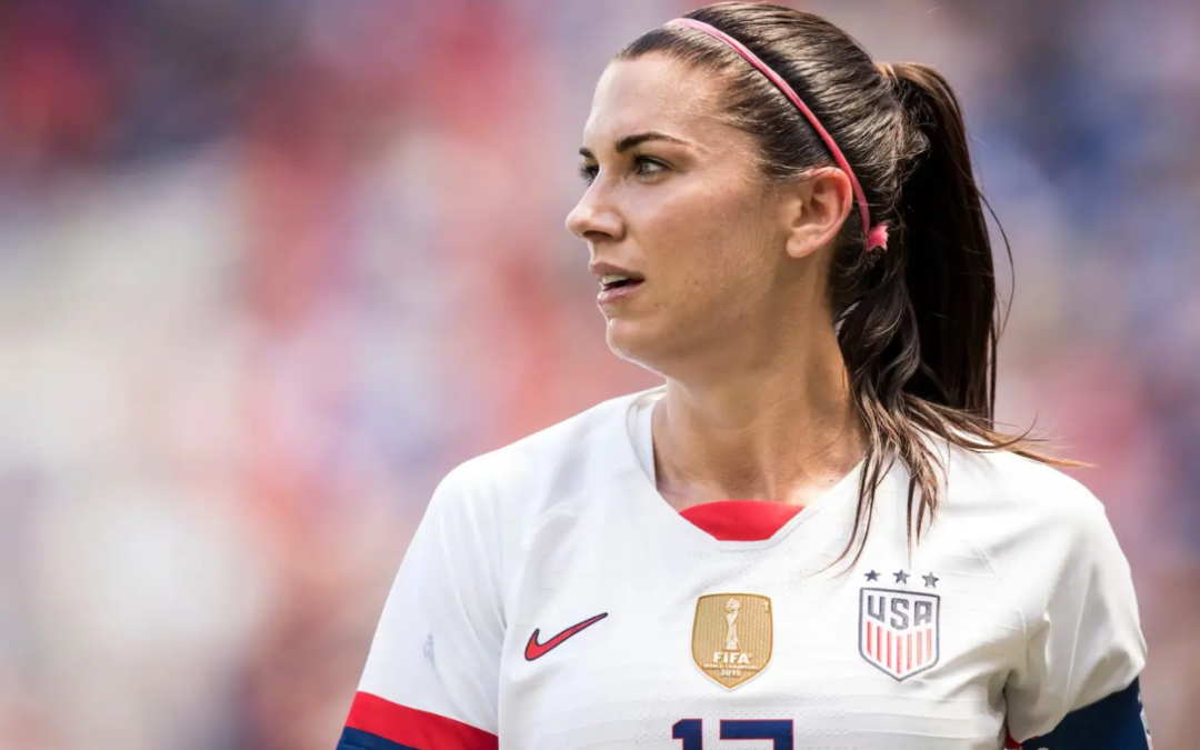 Alex Morgan: US women's soccer team has 'really big shoes to fill'