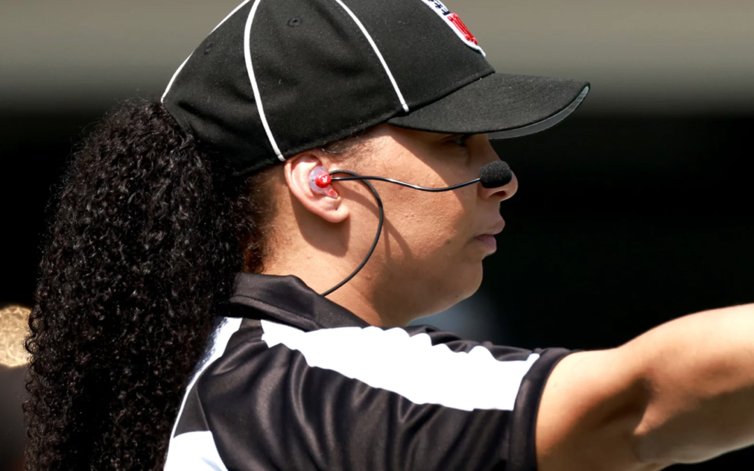 Maia Chaka Is The 1st Black Woman To Officiate An NFL Game