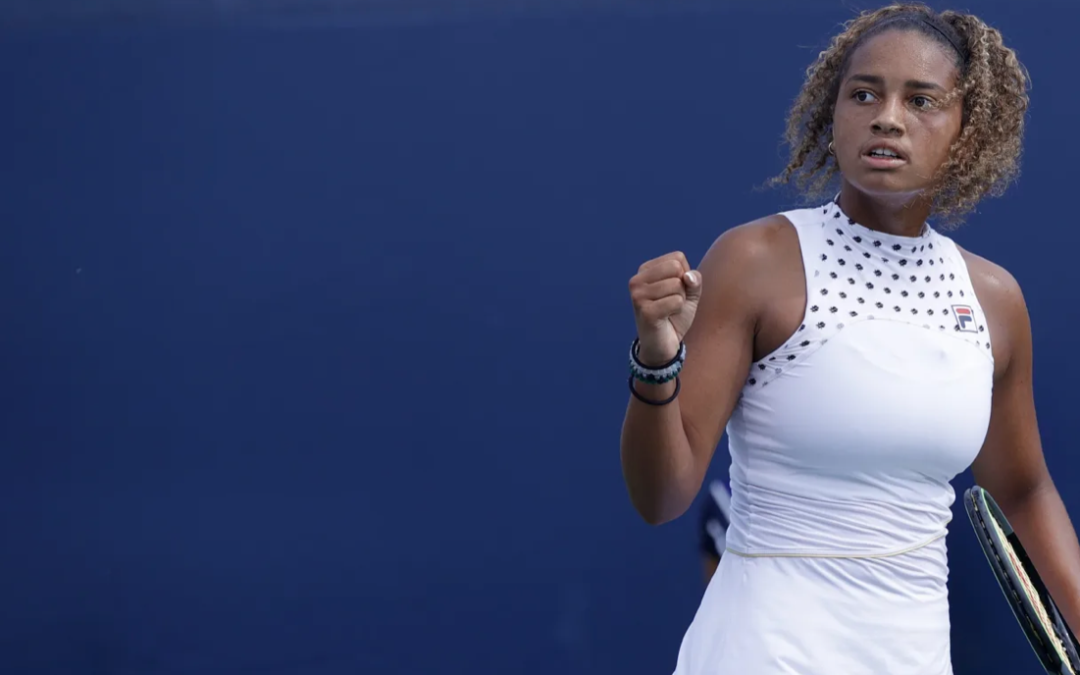Robin Montgomery, the future of women's tennis