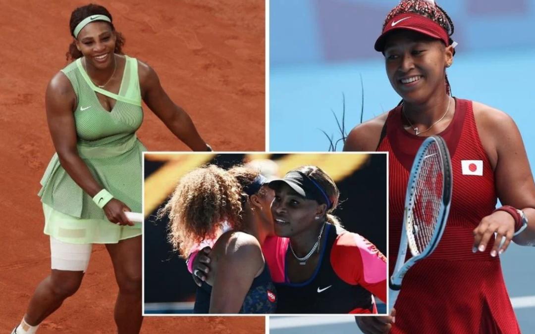 Naomi Osaka admits she 'started playing tennis' because of Serena Williams