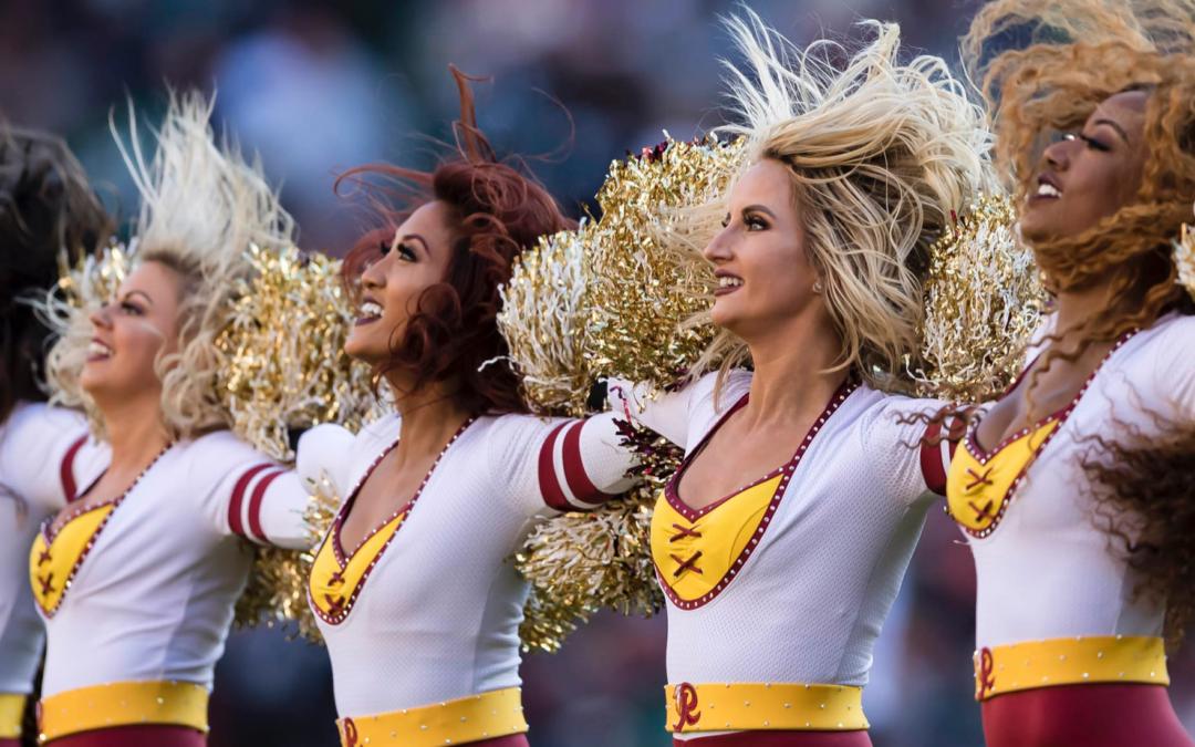 Disgusted Cheerleaders Demand NFL Release Report on Washington Football Team's 'Boys Club'