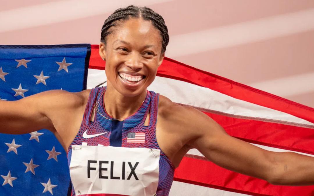 Track Star Allyson Felix Named Women's Sports Foundation's Sportswoman Of The Year